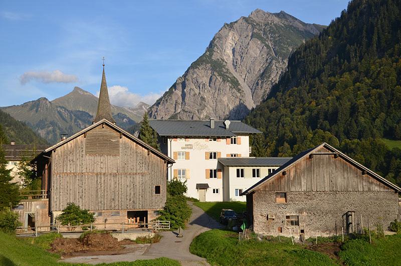Feldenkrais und Wandern - Großes Walsertal