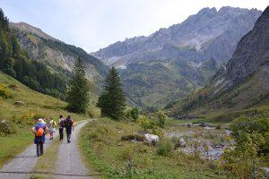 Feldenkrais und Wandern im Großen Walsertal
